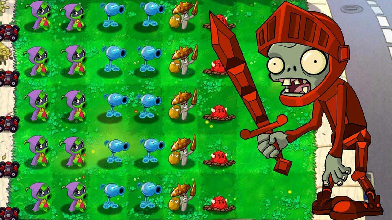 Персонажи игры растения против зомби