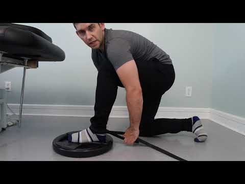 Ankle mobility Exercise - North York Toronto Chiropractor ARC Health