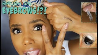 EYEBROW EXTENSIONS DIY GEL | Ellarie