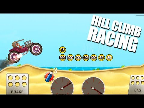 Hill Climb Racing | Hot Rod Max Upgraded Gameplay | Android Games | Droidnation