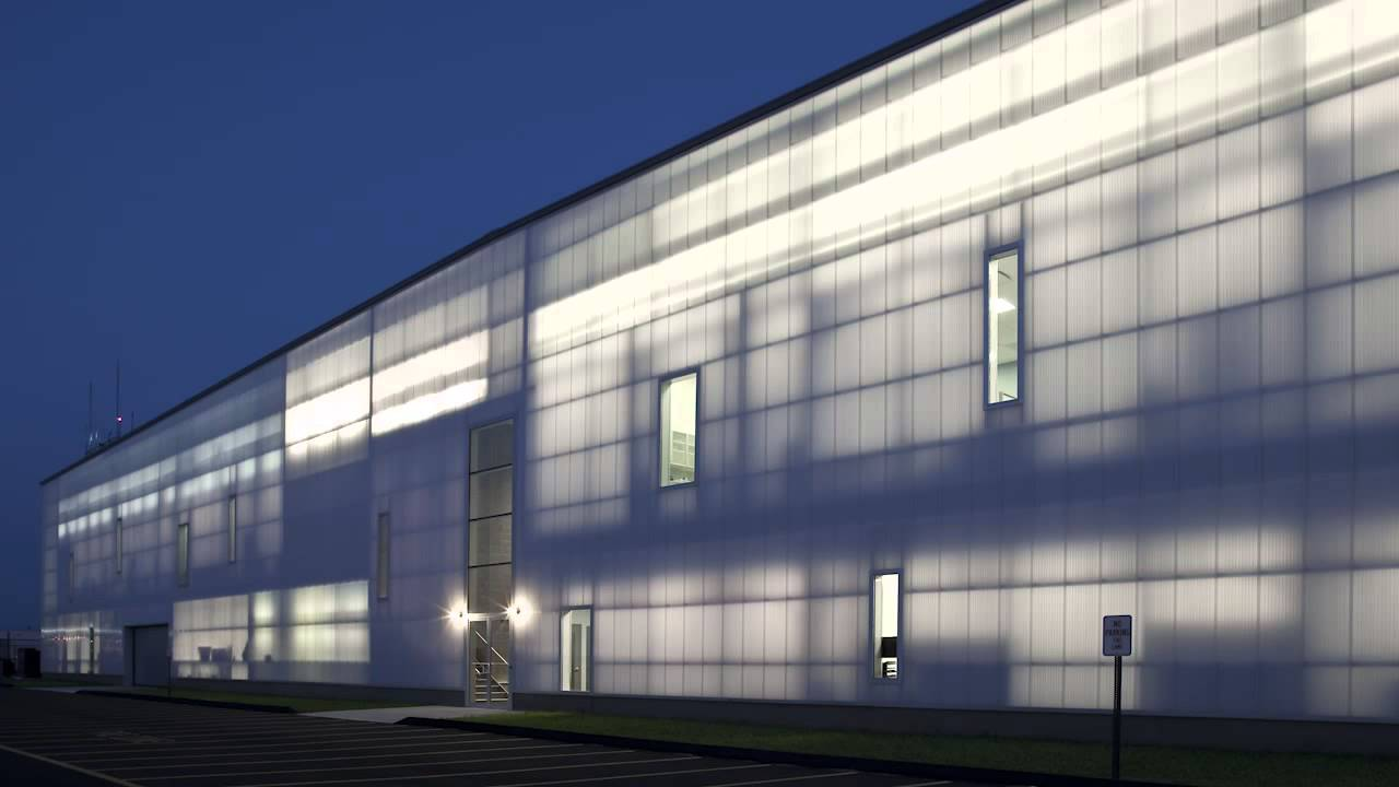 EXTECH Translucent Wall Panel System - Project Spotlight ...