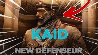 Nouveau Défenseur: KAID ! Bande annonce + Gadget  ( Rainbow six siege / Opération WIND BASTION )