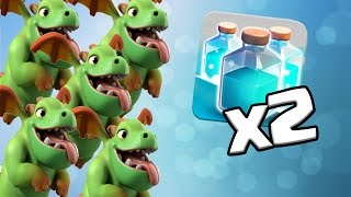 All BABY DRAGON Attack with CLONE SPELL | DOES IT WORK? | Clash of Clans