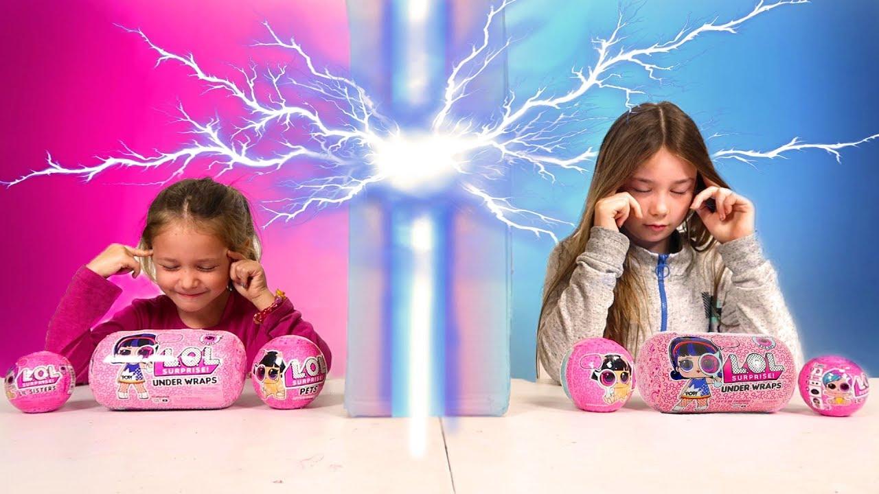 Twin Telepathy Toy Challenge Youtube