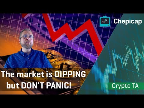 The Market Is Dipping, Can Bitcoin Stay Above $10,000? | Cryptocurrency News | Chepicap