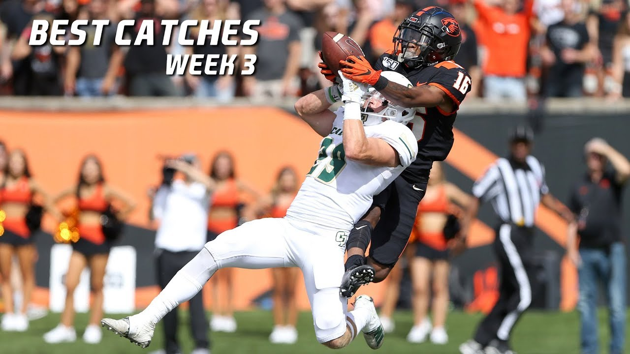 Download College Football Best Catches 2019-20 - Week 3 ᴴᴰ