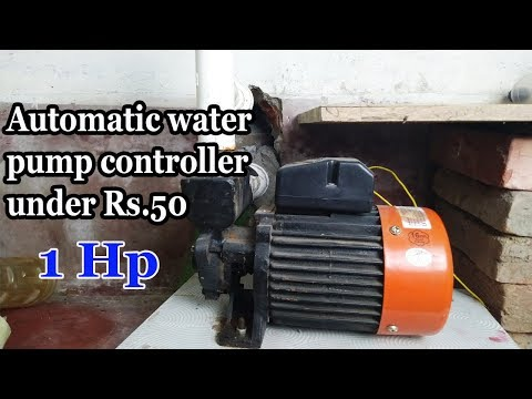 [Hindi] make an automatic 1hp water pump controller with automatic on off