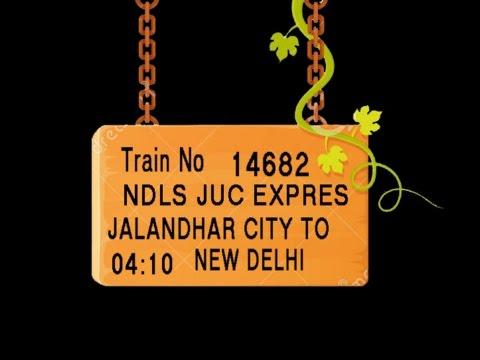 Train No 14682  Train Name JUCNDLS EXPRES JALANDHARCITY PHAGWARA PHILLAUR LUDHIANA DORAHA KHANNA