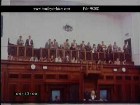 The Australian House of Representatives, 1980's - Film 98708