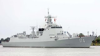 Chinese naval frigate sets off to Russia for international military competition