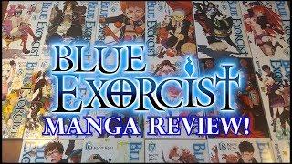 BLUE EXORCIST MANGA REVIEW! VOLUMES 1-19!