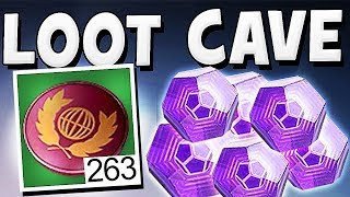Destiny 2 - LOOT CAVE UNLIMITED ENGRAMS & TOKEN GLITCH !! thumbnail