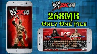 Download WWE 2K14 268MB Only One File | PPSSPP | Highly Compreesed | Android  | 100% Working