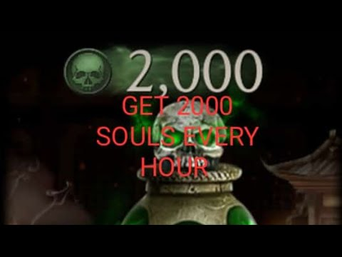 🥇 Mk mobile time Glitch, Get 2000 souls per hour and
