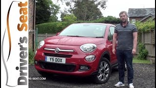 Fiat 500X 2017 SUV Review | Driver's Seat
