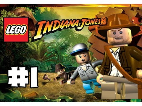 Lego Индиана Джонс 2! #1 Прежде чем начать играть, надо управление настроить!