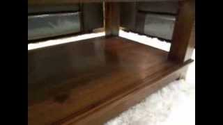 Royan Dark Wood Coffee Table