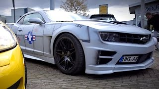 1600 PS GTR l V8 Vlog - Flying Uwe beim Customkingz Season Opening 2016