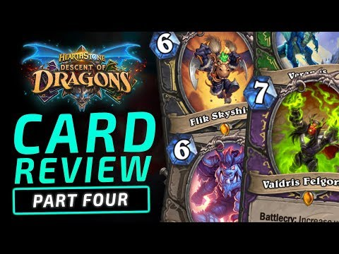 NEW Rogue & Warlock LEGENDARIES!! | Descent of Dragons | Hearthstone Expansion
