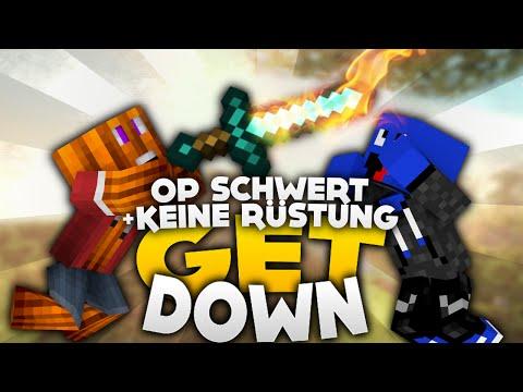 OP Schwert + keine Rüstung Challenge! - Minecraft Get Down! | DieBuddiesZocken