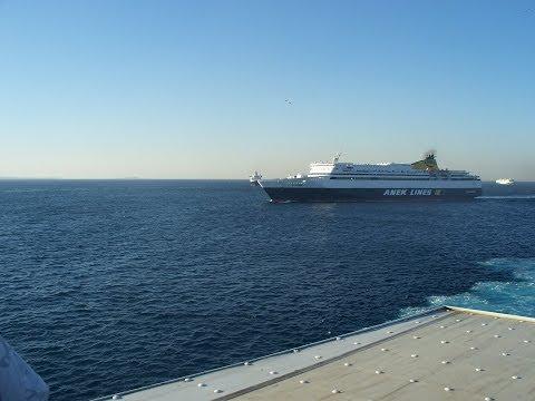 Греция. Из порта Пирей на о.Лесвос.From Piraeus to Lesbos,Greece