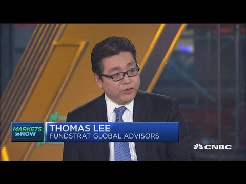 We believe the sell-off is behind us, says Fundstrat's Lee