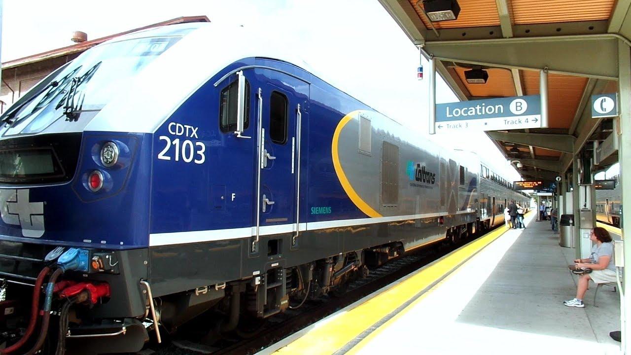 Amtrak Sacramento Tour