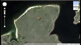 Misterioso Pentagrama En Google Maps/Earth Free HD Video