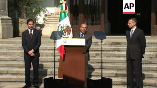 Calderon announces discovery of large oil reserve in Gulf of Mexico