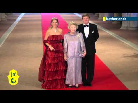 King of the Netherlands: Queen Beatrix abdicates in favour of Crown Prince Willem-Alexander