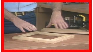 How To Make A Picture Frame Out Of Wood - Make Your Own Picture Frame Part 3/3