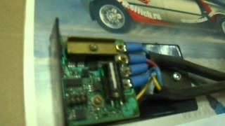 Плавный пуск электродвигателя охлаждения радиатора