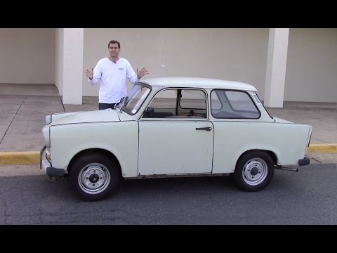 Thumbnail: The Trabant Was an Awful Car Made By Communists