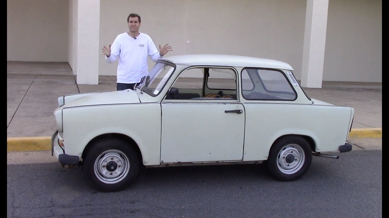 Stop And Go Auto >> The Trabant Was an Awful Car Made By Communists - YouTube