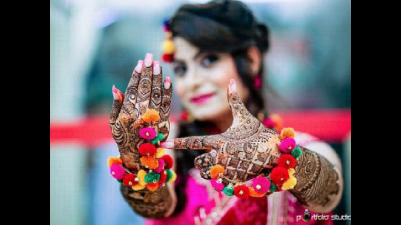 Best Photo Ideas for Mehandi Ceremony Photoshoot