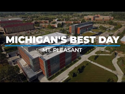 Michigan's Best Day Exploring The Home Of Central Michigan University