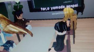 Playing Roblox Anime High School Forever Im Tar.o Yamada