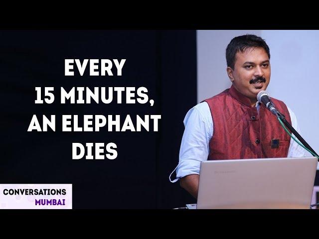 How I talk to Elephants | Anand Shinde |  Elephant Whisperer | Trunk Call | Conversations Mumbai