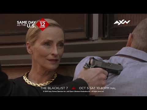 The Blacklist Season 7 IS HERE | New On AXN