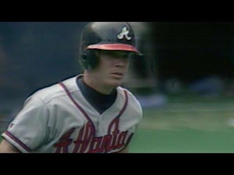 ATL@PIT: Jones homers, goes over 100 RBIs in 1996