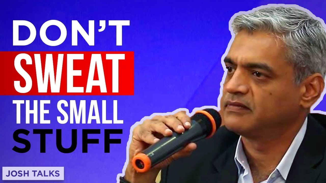 Don't SWEAT the SMALL Stuff! | Capt. Raghu Raman | Army Motivational Speech