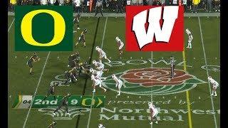 Wisconsin vs Oregon Football Bowl Game 1 1 2020