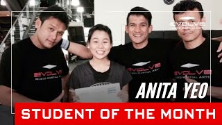 Evolve MMA | Student of the Month: 18 year old Anita Yeo