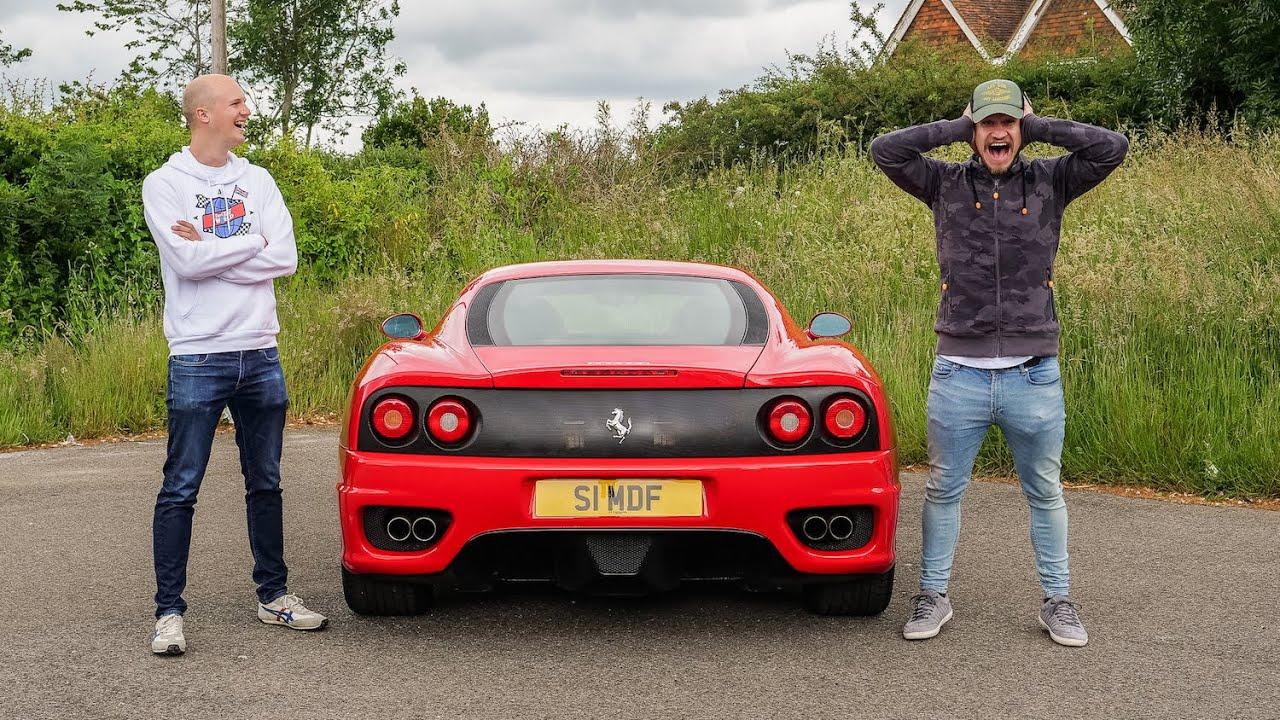 My Friend Reviews My CRAZY LOUD Ferrari Exhaust