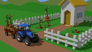 Tractor For Kids - Formation and Uses | Tractors and other fairy tales | Bajka Traktor - Animacje