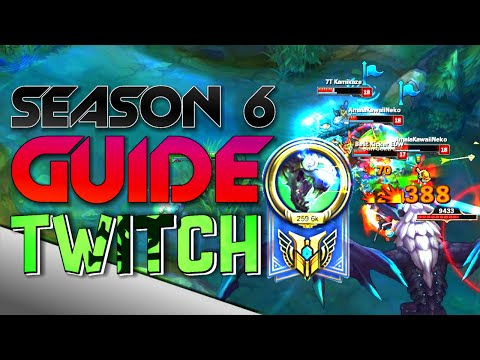 Best Twitch ADC Guide Season 6!