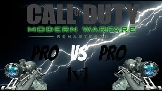 MWR 1v1 Sniping Two Pro 1v1ers Battle It Out!!!