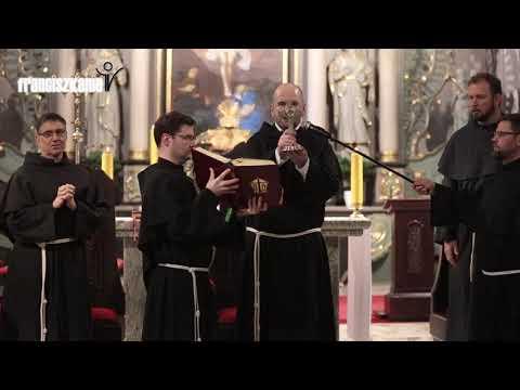 Błogosławieństwo relikwiami św. Franciszka