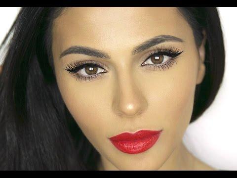 How To: Winged Eyeliner for Deep Set Eyes   Eye Makeup Tutorial   Teni Panosian