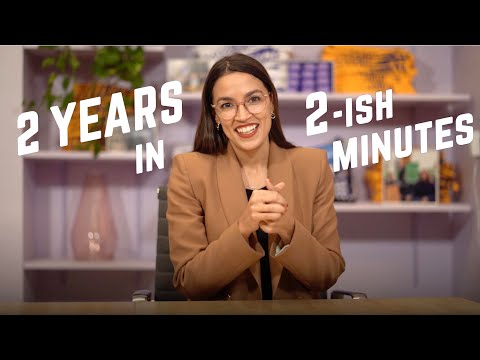 2 Years of Accomplishments in 2 Minutes | Alexandria Ocasio-Cortez